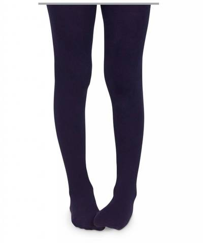 Microfiber Tights | Navy - The Yellow Canary
