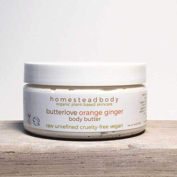 butterlove orange ginger body butter