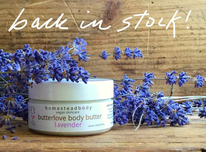 butterlove organic body butter lavender - organic shea body butter