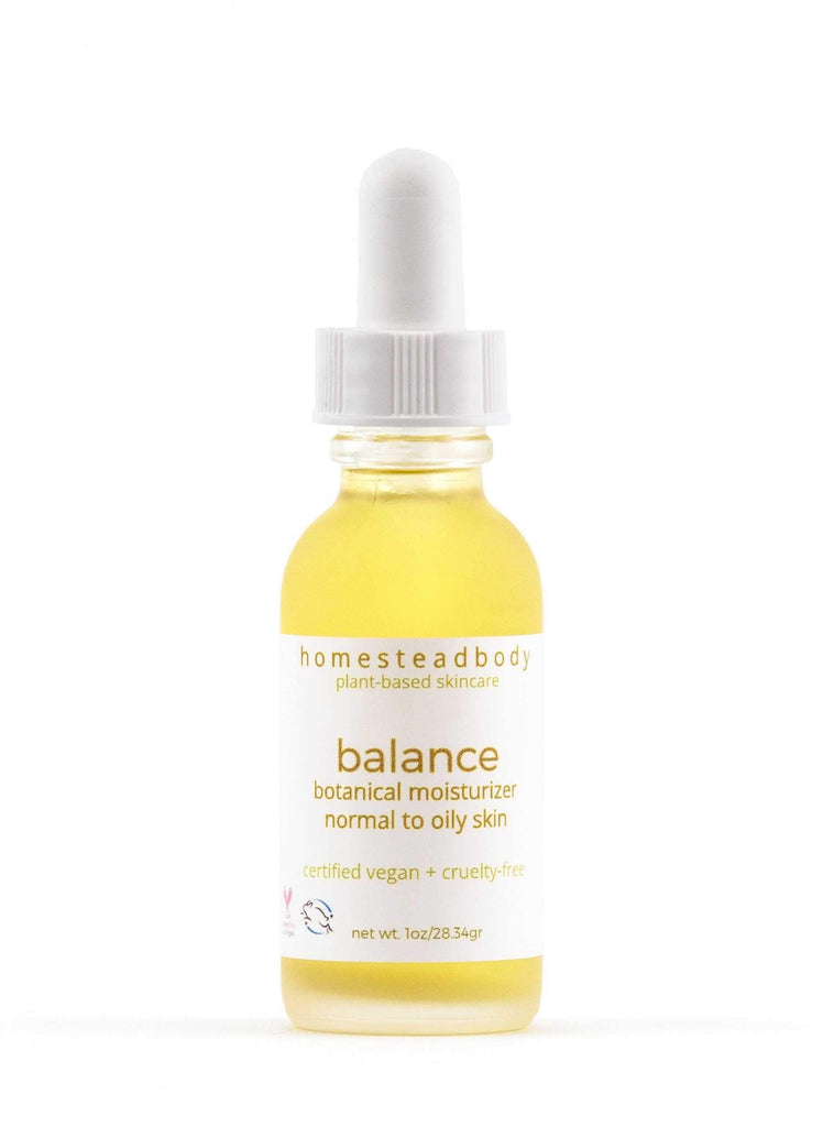 balance organic face oil | homestead body