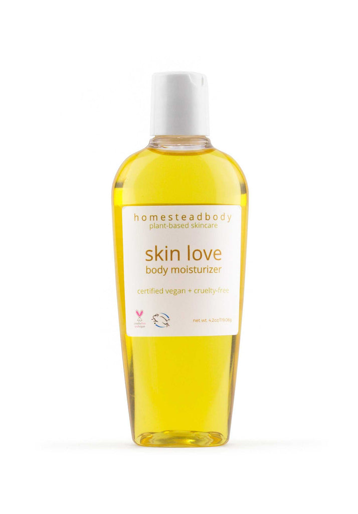 skin love body oil | homestead body