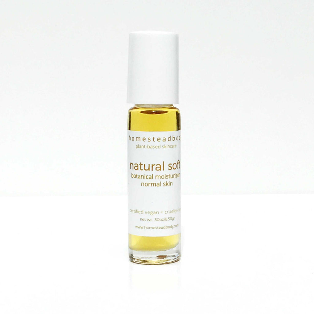 homestead body face oils and moisturizers are 100% organic, plant-based, certified vegan and cruelty-free.