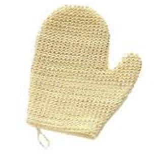 sisal mitt - natural fiber | homestead body