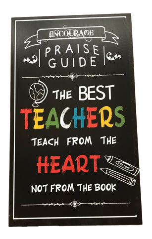 """The Best Teachers"" Wall Plaque - Makes a GREAT Gift"