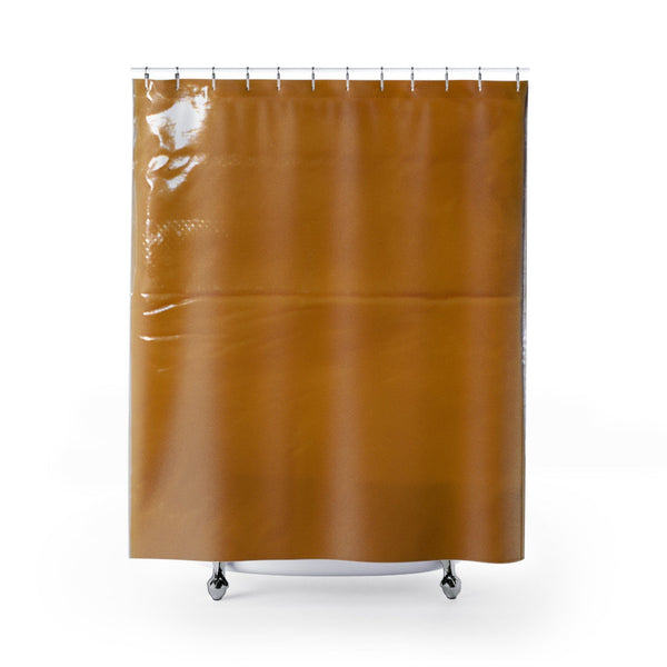 American Cheese Slice Shower Curtain