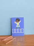 Genius Boy Notebook- BLUE