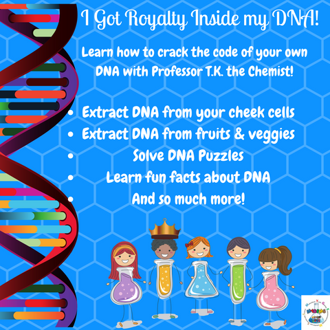 I Got Royalty inside my DNA!