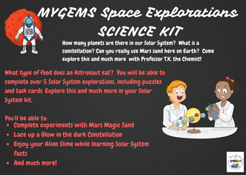 MYGEMS Solar System Explorations Kit