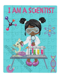 I AM A SCIENTIST PUZZLE