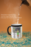11 oz Magic Teacher Mugs - With Green Dress
