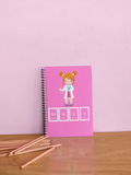Genius Girl Notebook- PINK
