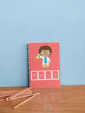 Genius Boy Notebook- RED