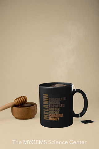 11 oz Regular Melanin Mug (Black)