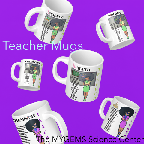 11 oz Regular Teacher Mugs - Green