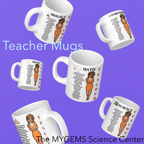 11 oz Regular Teacher Mugs - With Locs