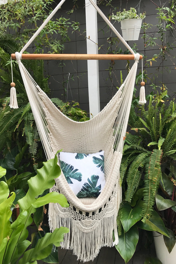 HANGING HAMMOCK SWING CHAIR