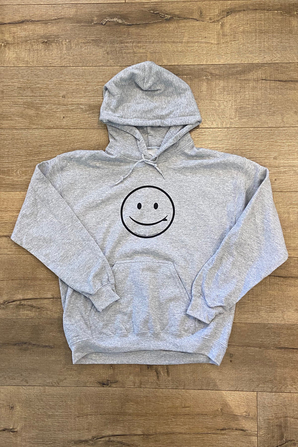 ROB MACHADO SMILEY HOODIE 2.0 - HEATHER GREY
