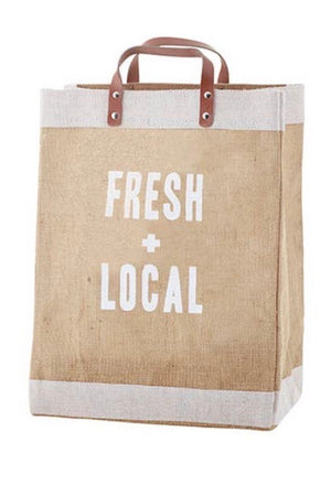 FRESH & LOCAL MARKET TOTE