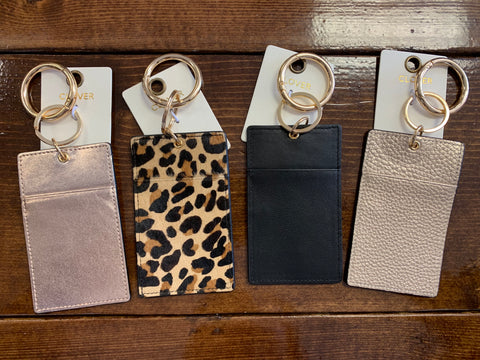 Leather Wallet Key Rings