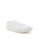 White Lace Up PVC Sneaker