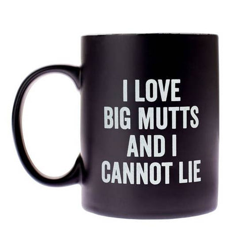 I Love Big Mutts Drinkware