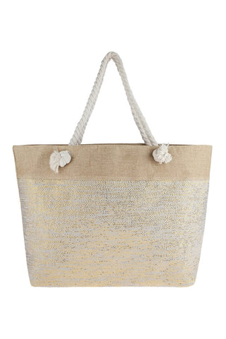 Goldilocks Beach Tote