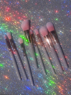 Dose of Pink 8-Piece Brush Set