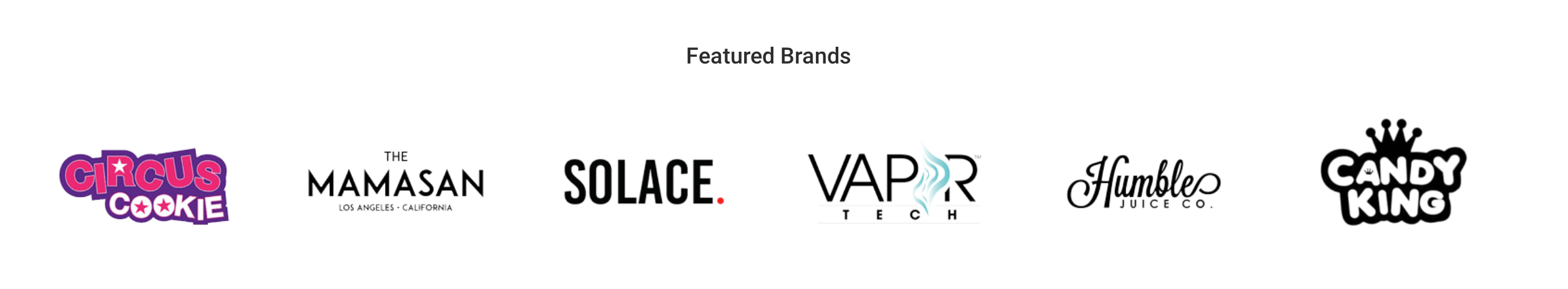 VR - Featured Brand Logos