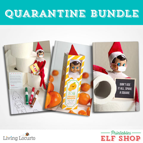 Quarantine Elf Printable Bundle