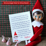 Donate Toys - Elf Arrival Letter and Stationery