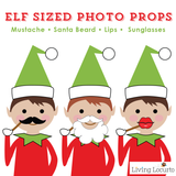 Christmas Elf Photo Booth Props