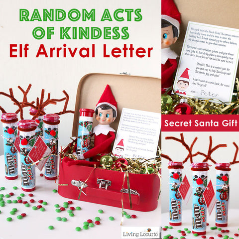 Random Acts of Kindness - Elf Arrival Letter