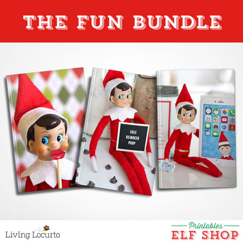 The FUN Elf Printable Bundle