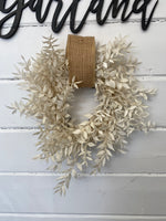 Bleached Gift Wreath