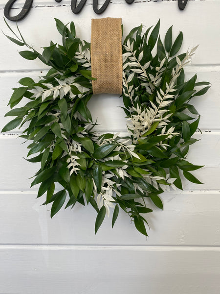 Bleached Combo Gift Wreath
