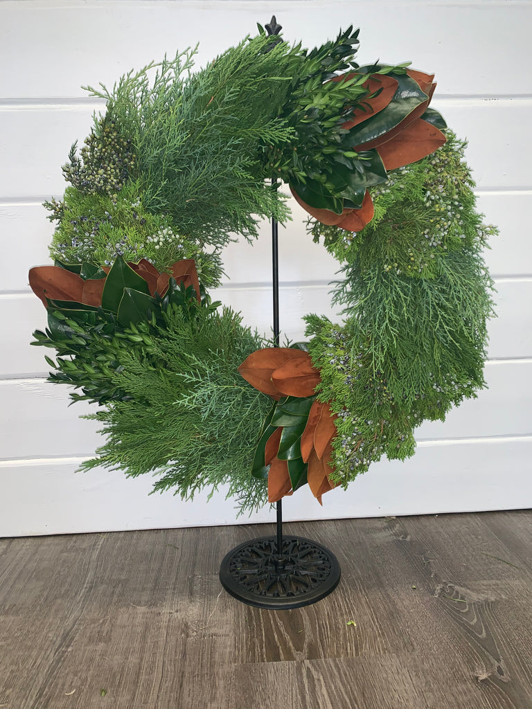 Combination Greenery Wreath