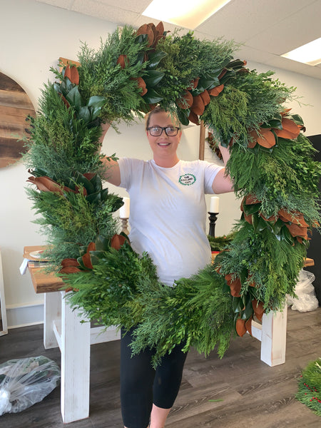 Oversized Combination Wreath- IN STORE PICKUP ONLY