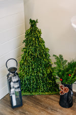 Flat Sided Table Top Christmas Tree
