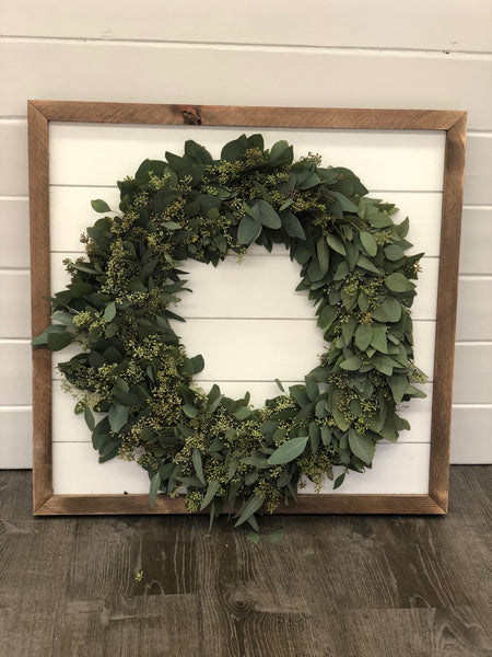 Seeded Eucalyptus Wreath