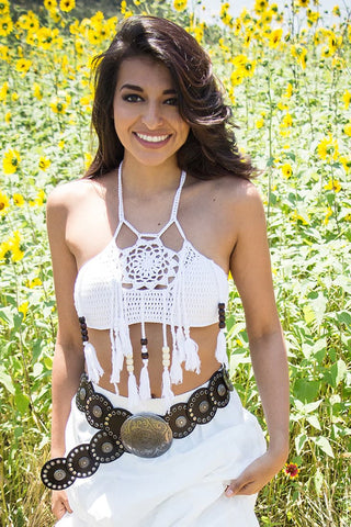 Dreamcatcher Crochet top - Miss Edgy