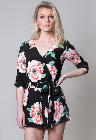 floral romper - Miss Edgy