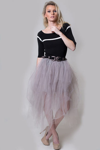 Mesh tutu skirt - Miss Edgy