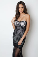 Lace Black Dress - Miss Edgy