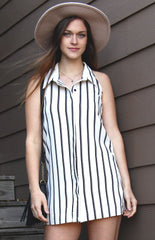 Striped shirt dress - Miss Edgy