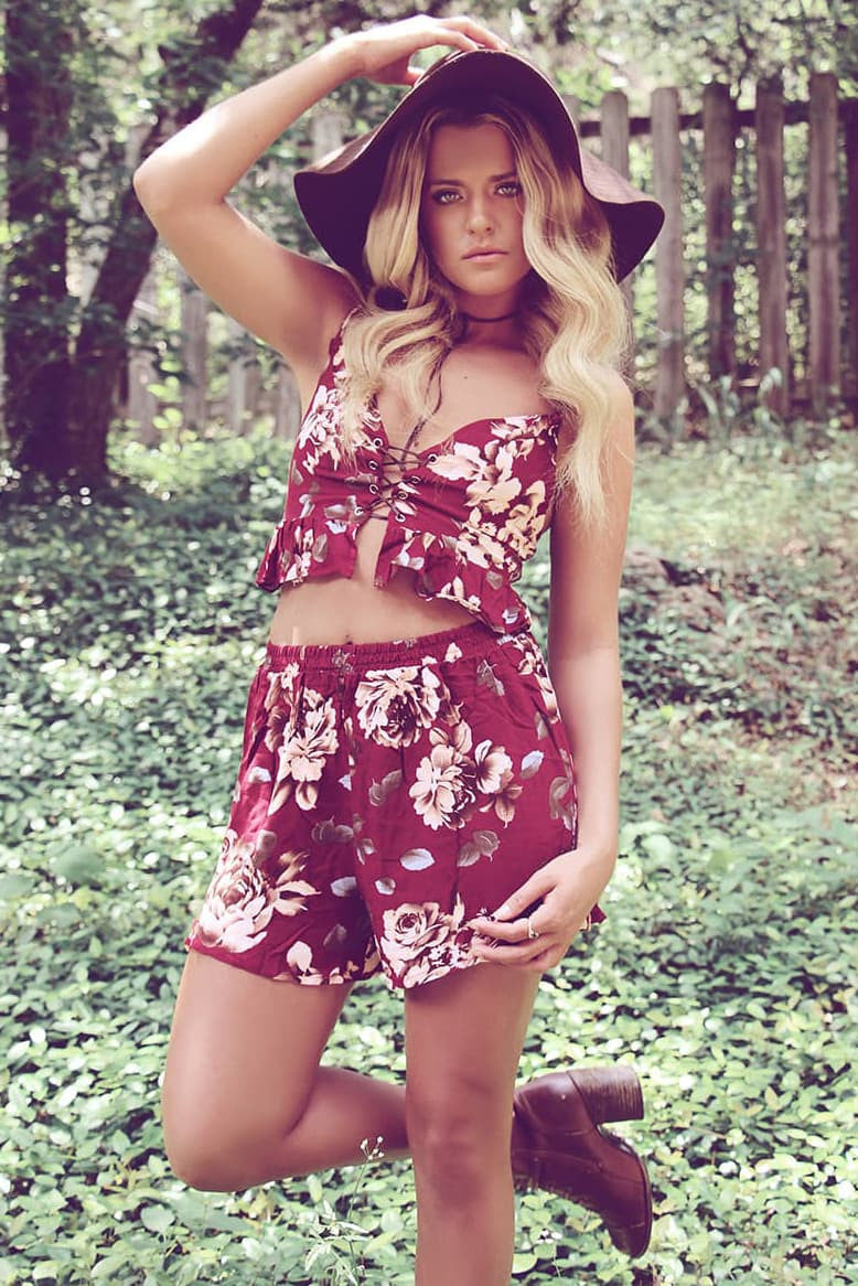 Wild Rose Two Piece Set