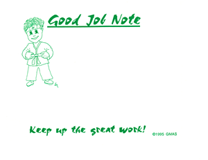 How To Use Good Job Notes