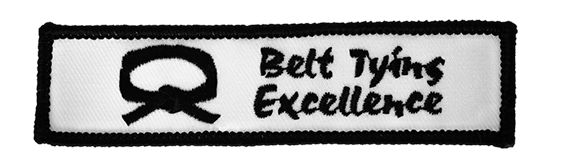 BELT TYING EXCELLENCE PATCH