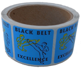 Black Belt Excellence Stickers