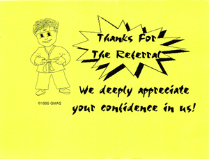 Referral Thank-You Card