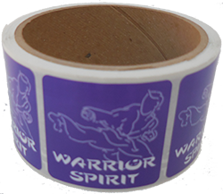 Warrior Spirit Stickers!